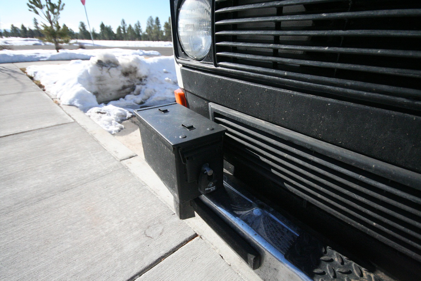 Drive Nacho Drive » Custom Bumpers for the Vanagon