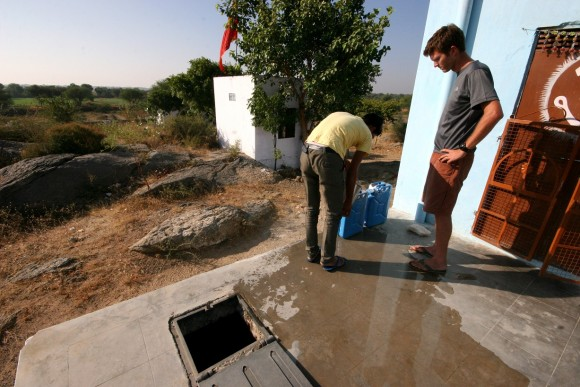 Indian water pits